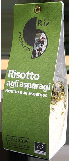 Risotto agli asparagi (Risotto aux asperges)