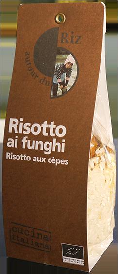 Risotto ai funghi (Risotto aux cèpes)