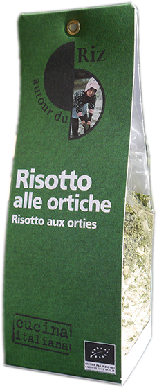Risotto alle ortiche (Risotto aux orties)