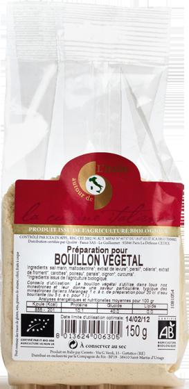 Bouillon végétal