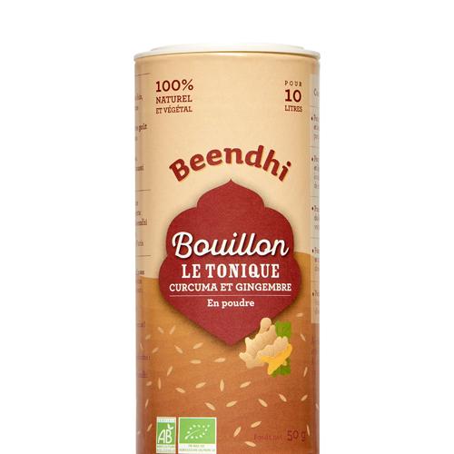 Bouillon Le Tonique - Curcuma et Gingembre