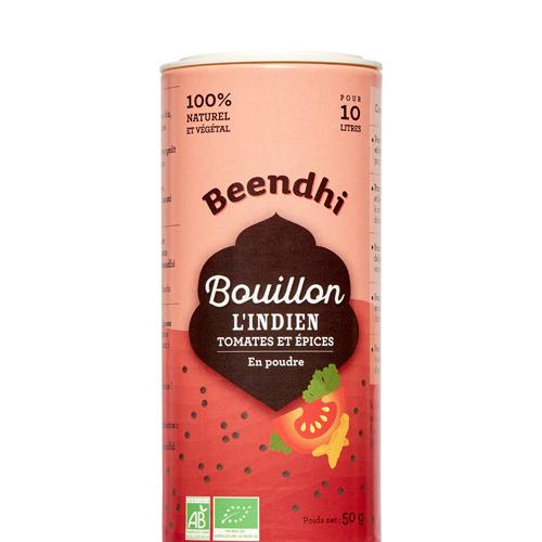 Bouillon L'Indien - Tomates et Épices
