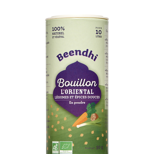 Bouillon L'Oriental - Légumes et Épices Douces