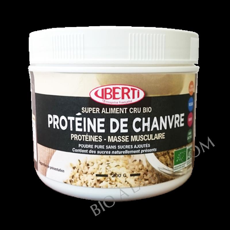 Protéine de chanvre Bio - CRUBERTI'S