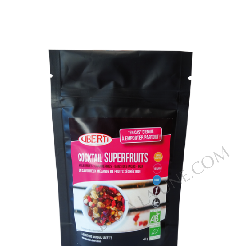 Cocktail superfruits AB snacking
