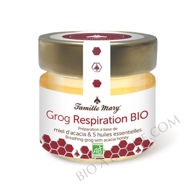 Grog respiration bio