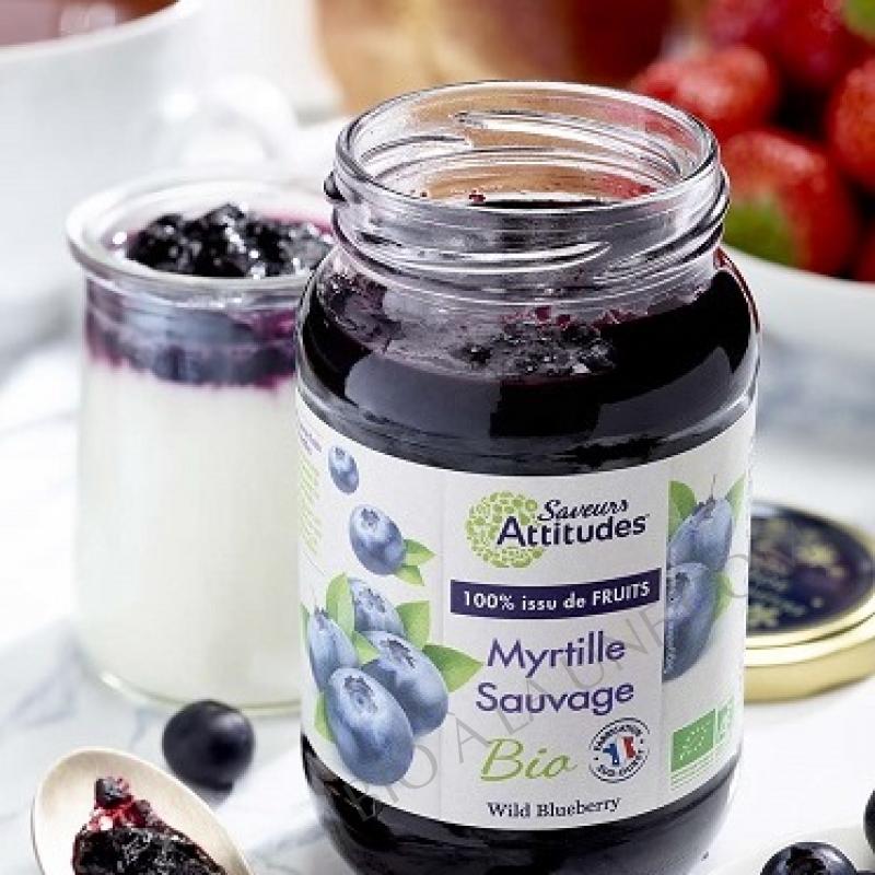 Préparation 100% fruits - Myrtille sauvage