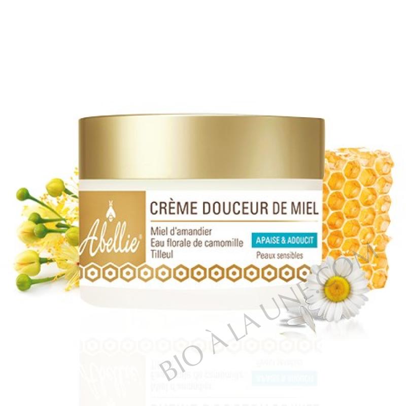 crème douceur de miel abellie bio