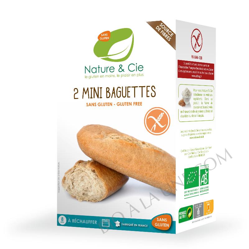 mini baguettes sans gluten