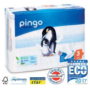 Couches écologiques jetables PINGO T3