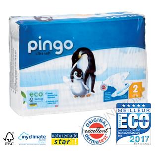Couches écologiques jetables PINGO T2