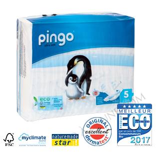 Couches écologiques jetables PINGO T5