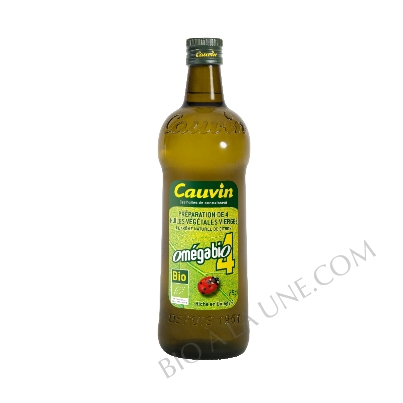 Huile omégaBio4 - Cauvin