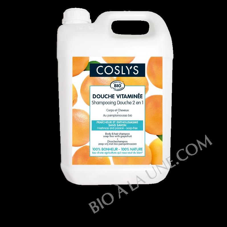 Shampooing-douche pamplemousse - Douche vitaminée