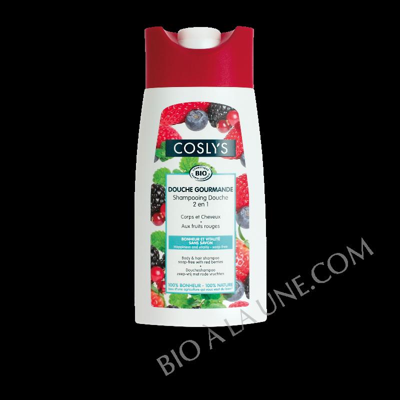 Shampooing-douche aux fruits rouges - Douche gourmande