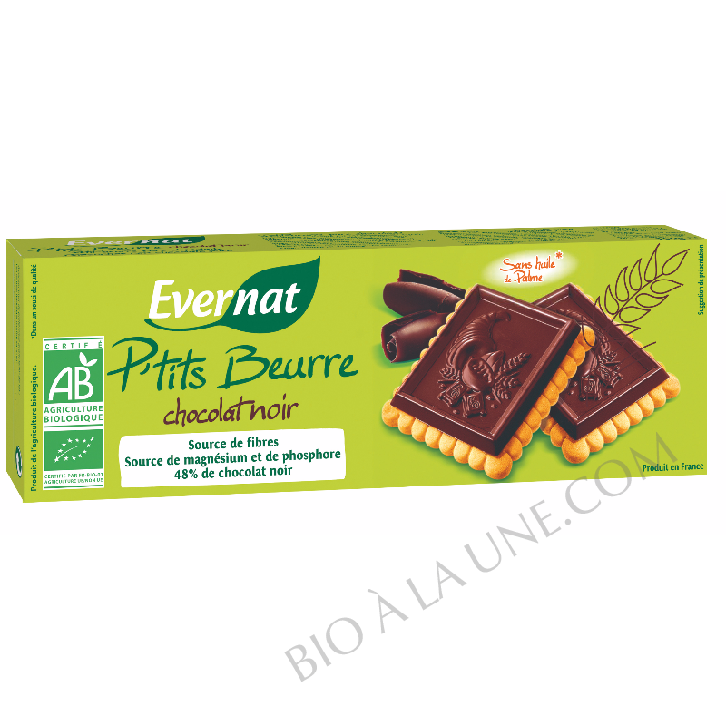 P'tit beurre chocolat noir