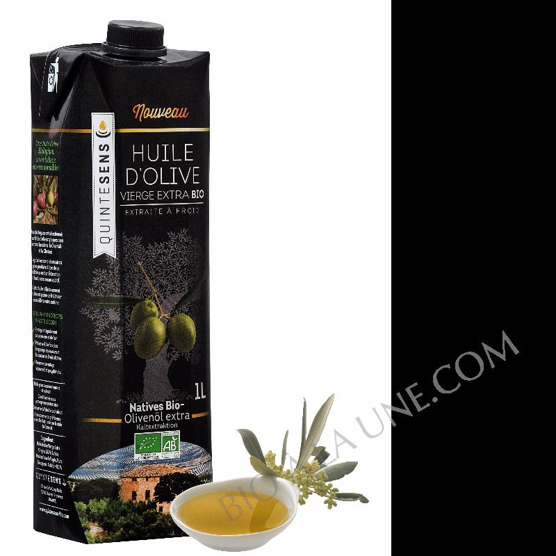 Huile d'olive vierge extra BIO Quintesens