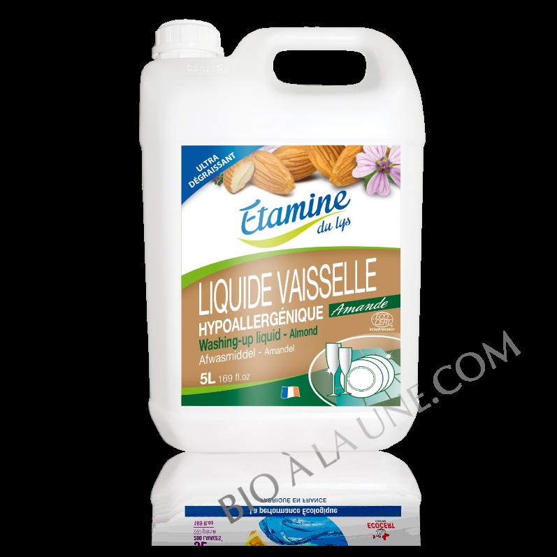 Liquide vaisselle amande 5L Etamine du lys