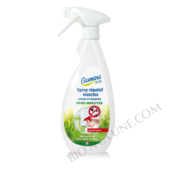 Spray répulsif habitat Etamine du lys