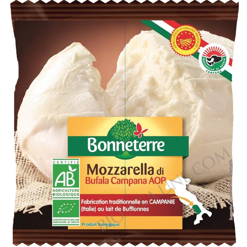 Mozzarella di bufala bio Bonneterre