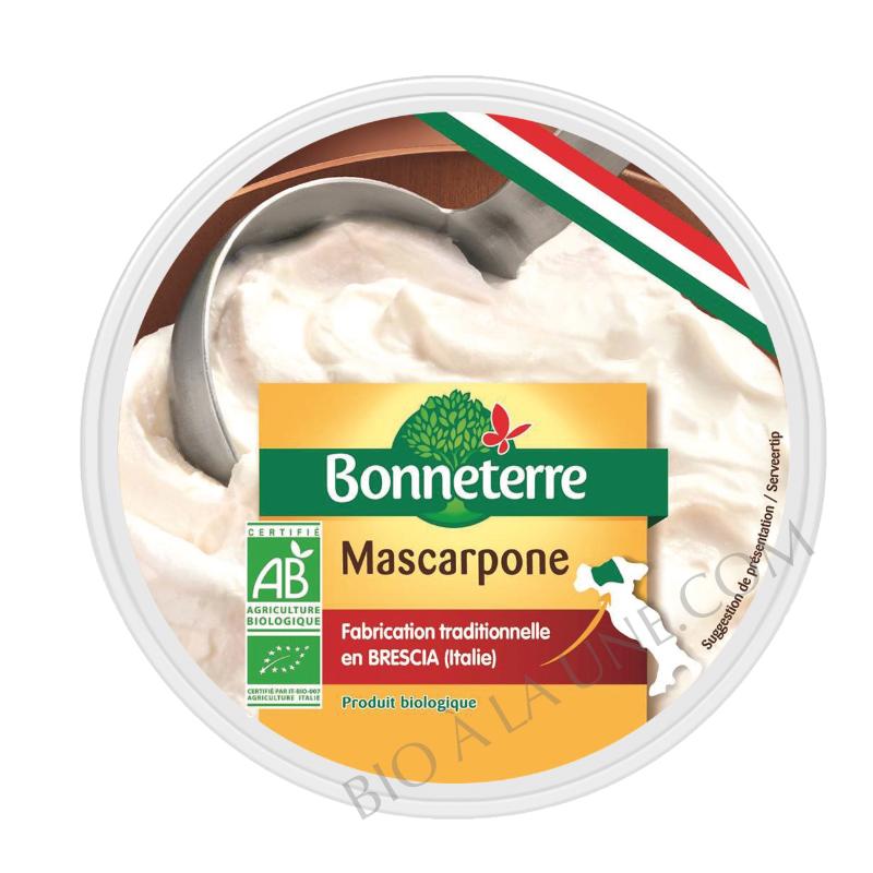 Mascarpone bio Bonneterre