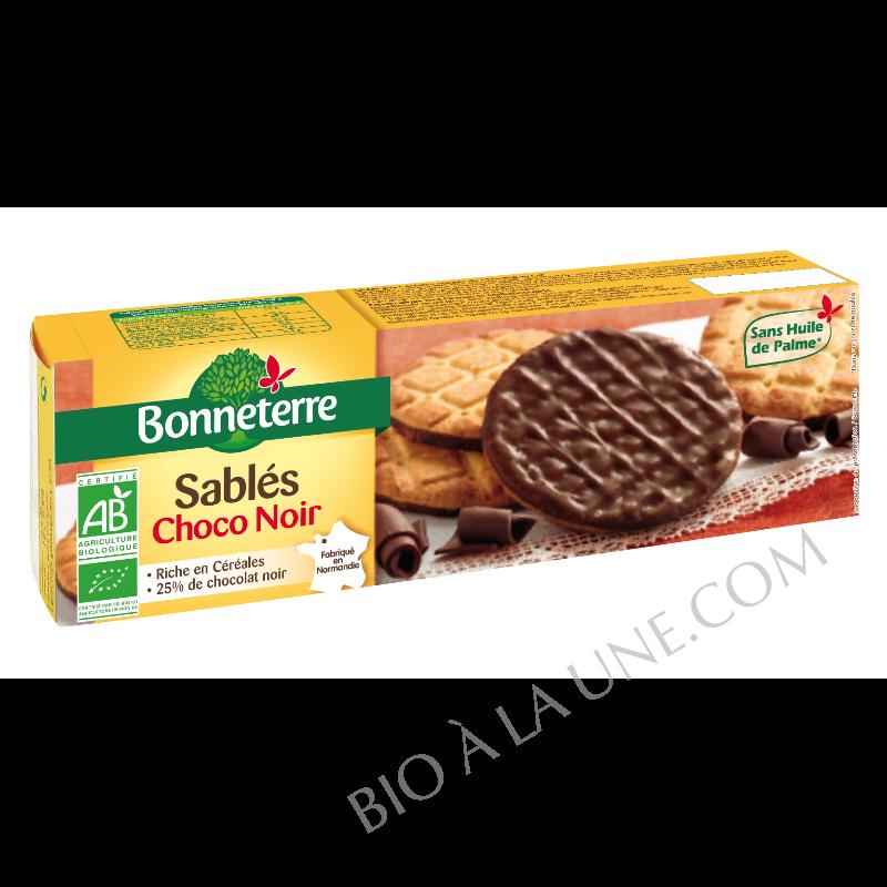 Sablés au chocolat noir bio Bonneterre