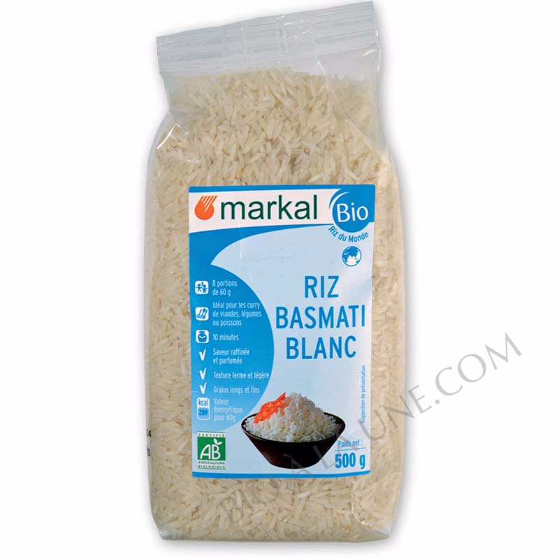 Riz basmati blanc - Markal