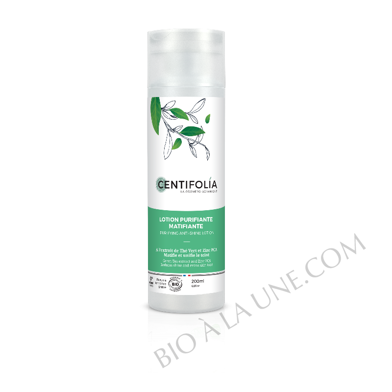 Lotion purifiante matifiante