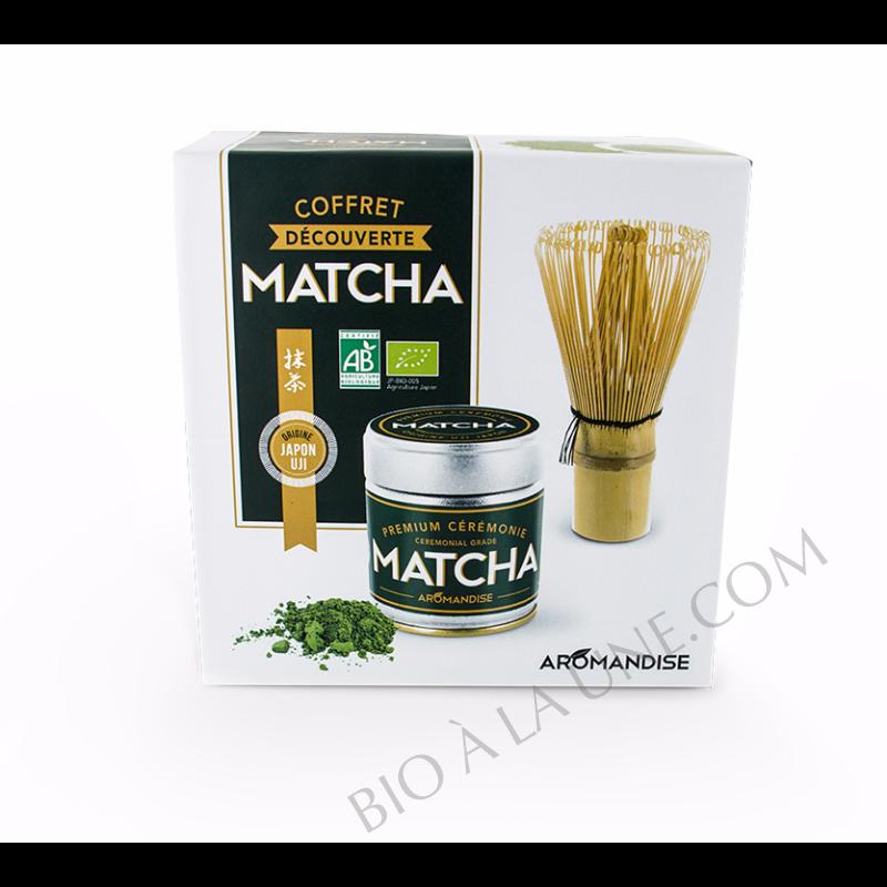 COFFRET MATCHA DECOUVERTE AROMANDISE