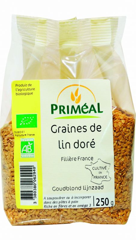 Graine de lin doré Priméal