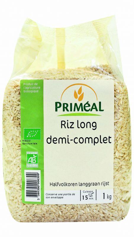 riz long demi complet Priméal