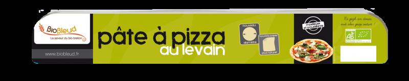 Pâte à pizza au levain