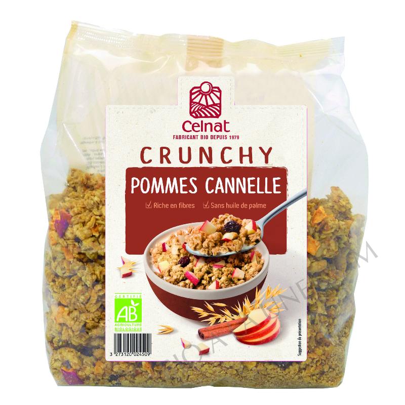Crunchy Pommes Cannelle - Celnat