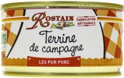 Terrine de Campagne Bio Rostain