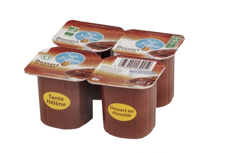 Dessert au Chocolat 4x115g