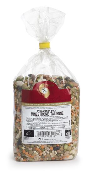 Minestrone italienne