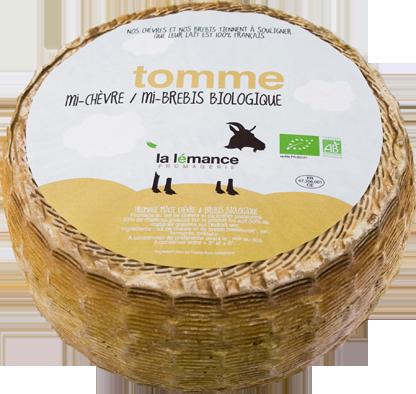 Tomme mixte (chèvre-brebis)