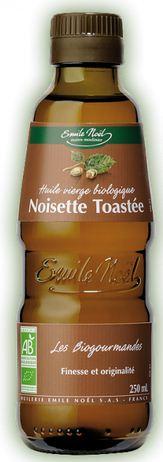 Huile vierge de noisette toasté