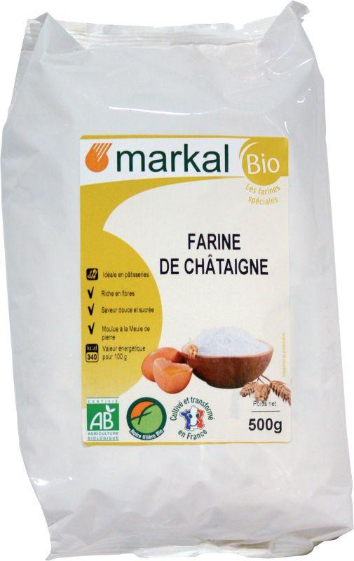 Farine de châtaigne - Markal