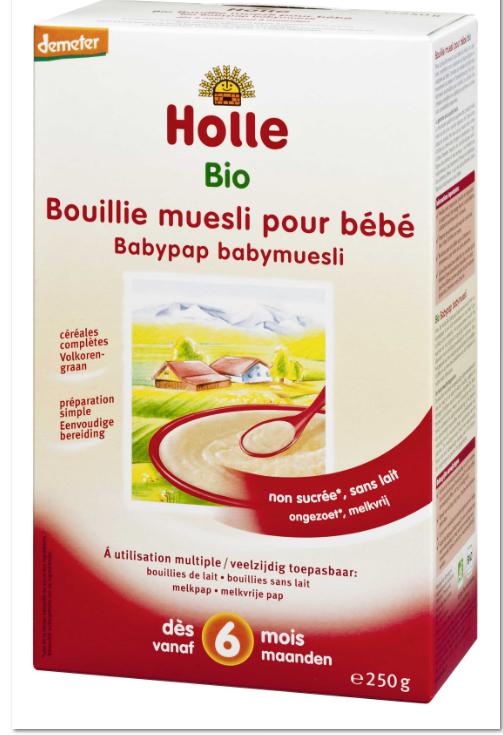 Bouillie Babymuesli - Holle