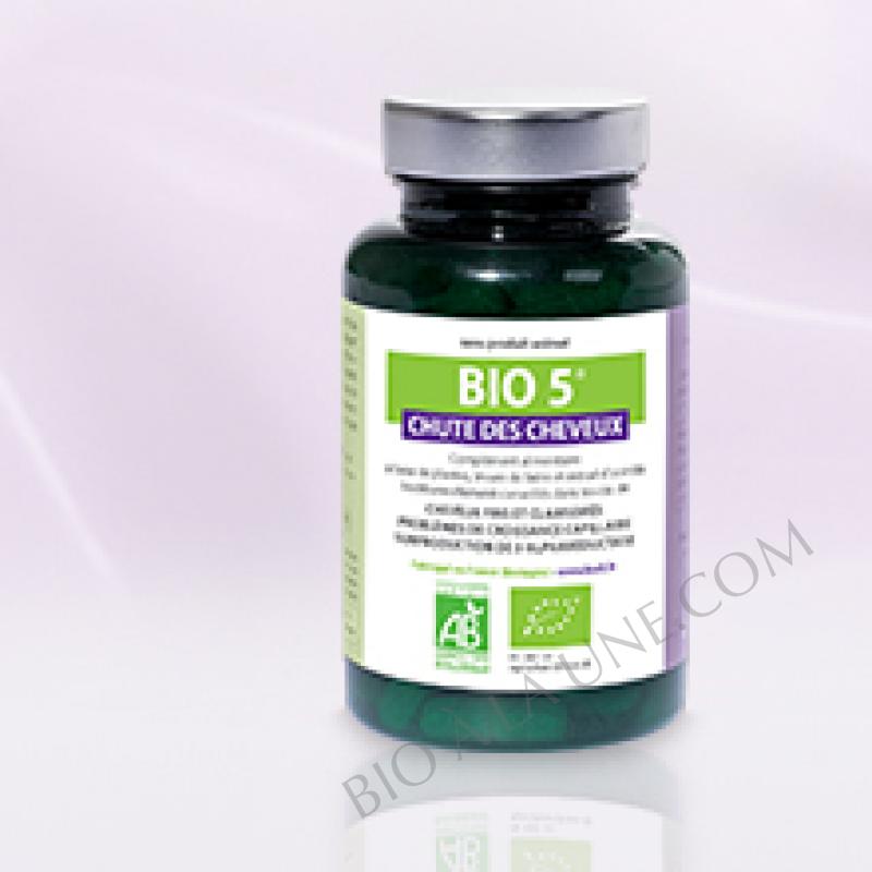Bio 5 Chute de Cheveux 1er anti-chute capillaire bio