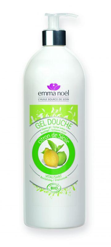 Gel douche au citron de Sicile - Emma Noël