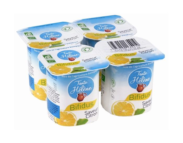 Bifidus saveur Citron 4x125g