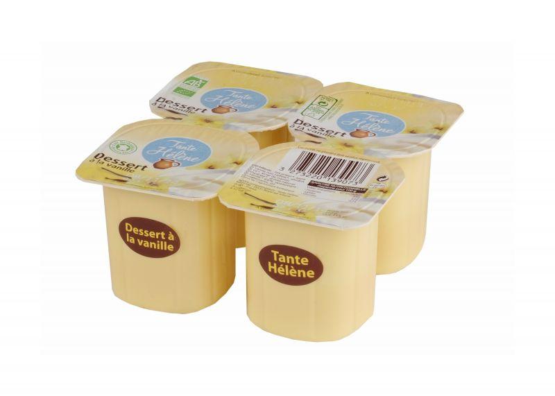 Dessert à la Vanille 4x115g