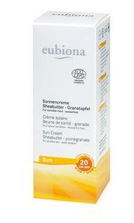 Crème solaire IP 20 - Eubiona