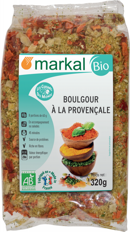 Boulgour à la provençale - Markal