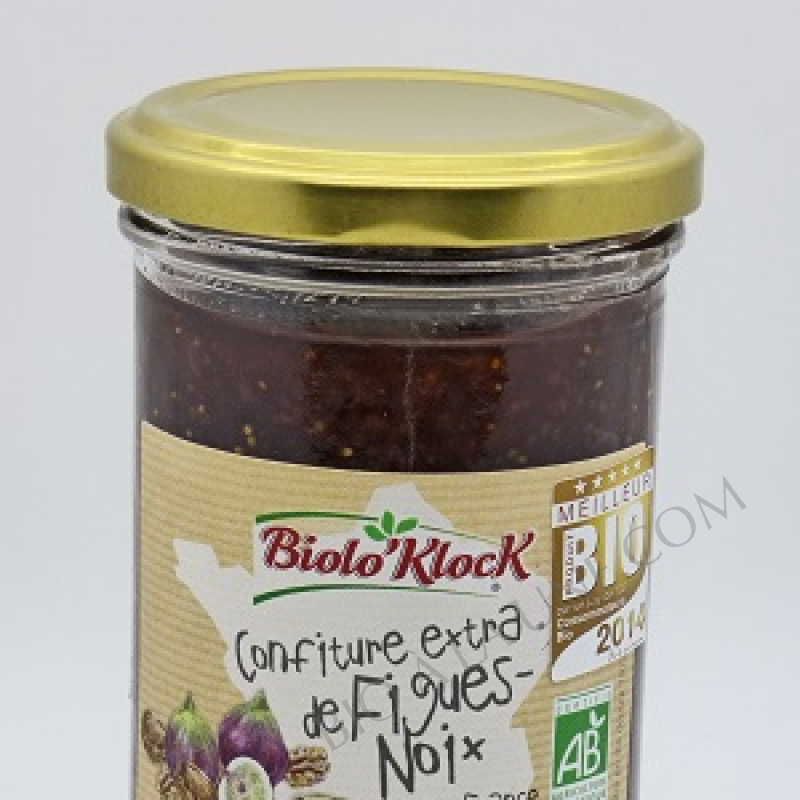 Confiture figue noix - Biolo'Klock