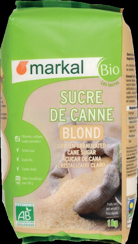 Sucre de canne 'Blond' - Markal