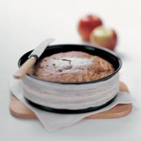 Gâteau de pommes à l'huile d'olive
