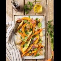 Légumes rôtis au four au sirop d'érable